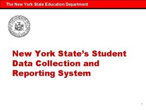 The New York State Education Department New York