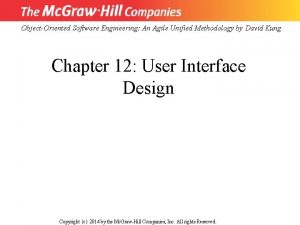 ObjectOriented Software Engineering An Agile Unified Methodology by