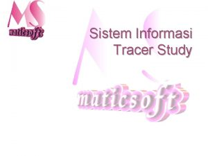 Sistem Informasi Tracer Study Functional dan nonfunctional requirements