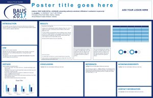 Add your Poster Number Poster title goes here
