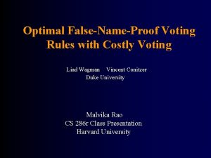 Optimal FalseNameProof Voting Rules with Costly Voting Liad
