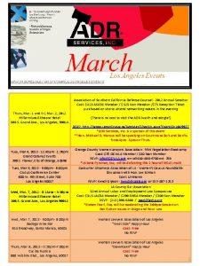 Thurs Mar 1 and Fri Mar 2 2012