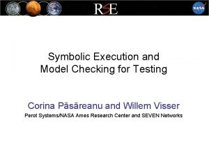 Symbolic Execution and Model Checking for Testing Corina