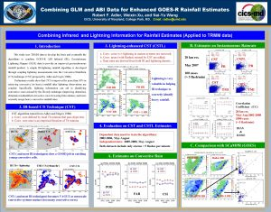 Combining GLM and ABI Data for Enhanced GOESR