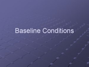 Baseline Conditions General Hydrogeology Schematic Crosssection Bedrock Reality
