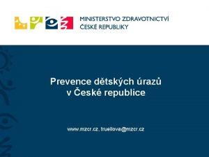 Prevence dtskch raz v esk republice www mzcr
