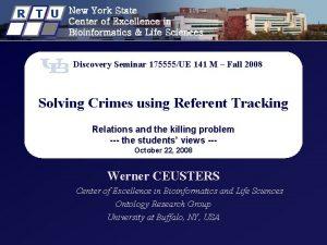 R T U New York State Center of