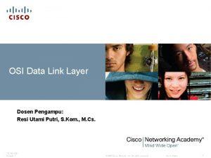 OSI Data Link Layer Dosen Pengampu Resi Utami