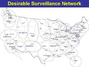 Desirable Surveillance Network National Prion Disease Pathology Surveillance