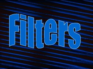 Filtering Filtering is another name for subtractive synthesis