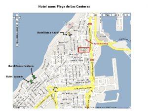 Hotel zone Playa de Las Canteras Hotel Reina
