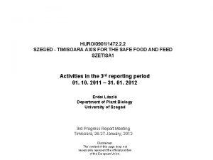 HURO09011472 2 2 SZEGED TIMISOARA AXIS FOR THE