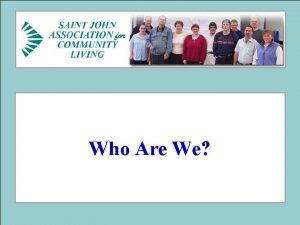 Who Are We SJACL Mission Statement Our mission