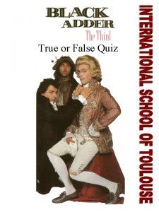 True or False Quiz Women and Peasants did