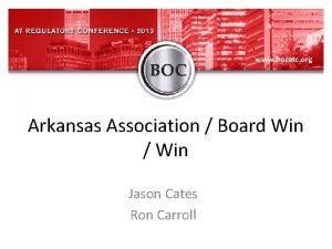 www bocatc org Arkansas Association Board Win Win