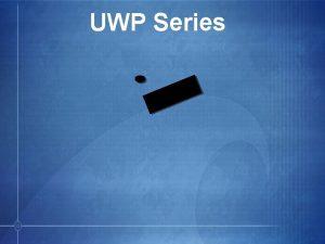 UWP Series UWP Series Packages Bodypack TX lav