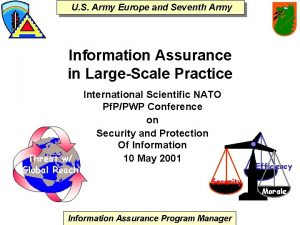 U S Army Europe and Seventh Army Information