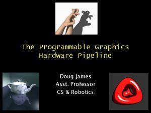 The Programmable Graphics Hardware Pipeline Doug James Asst