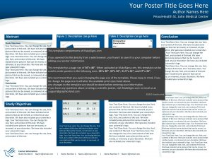 Your Poster Title Goes Here Author Names Here