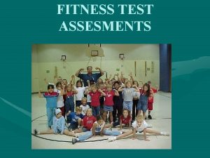 FITNESS TEST ASSESMENTS MUSSON FITNESS TESTING SITUPS PUSHUPS