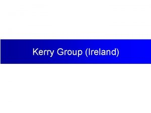 Kerry Group Ireland Early 1970 s 1972 Kerry