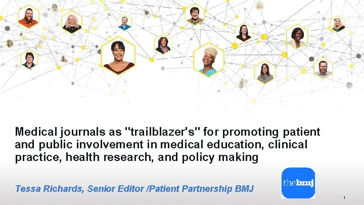 Medical journals as trailblazers for promoting patient and