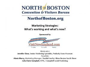 Marketing Strategies Whats working and whats new Sponsored