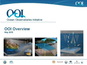 Ocean Observatories Initiative OOI Overview May 2015 OOI