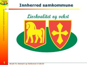 www innherredsamkommune no Innherred samkommune 1 Besk fra