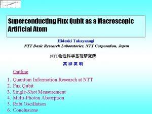 Superconducting Flux Qubit as a Macroscopic Artificial Atom