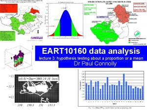 EART 10160 data analysis lecture 3 hypothesis testing
