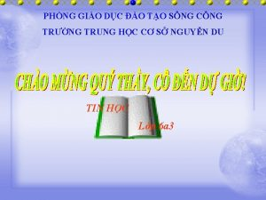 PHNG GIO DC O TO SNG CNG TRNG