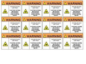 WARNING WARNING VerticallyDirected Laser Beam VerticallyDirected Laser Beam