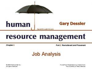 Gary Dessler tenth edition Chapter 4 Part 2