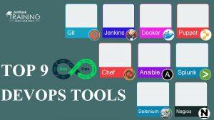 Git TOP 9 Jenkins Chef DEVOPS TOOLS Docker
