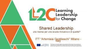 Shared Leadership una risorsa per una scuola inclusiva