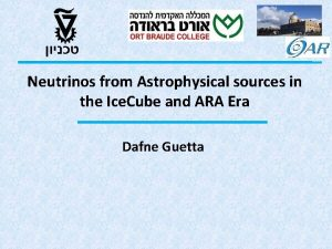 Neutrinos from Astrophysical sources in the Ice Cube