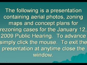 CZ2009 1 APPLICANT PROPERTY LOCATION PIN EXISTING ZONING