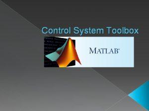 Control System Toolbox Tipos de modelos LTI Modelos