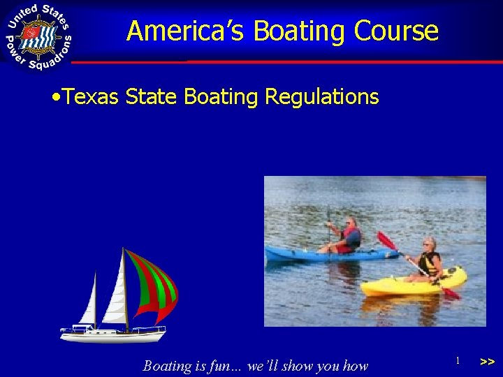 Americas Boating Course Texas State Boating Regulations Boating