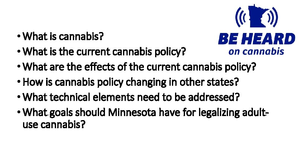 What is cannabis What is the current cannabis