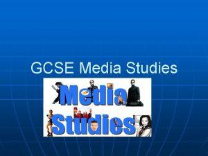 GCSE Media Studies Exam Board WJEC Coursework Controlled
