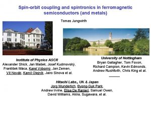 Spinorbit coupling and spintronics in ferromagnetic semiconductors and
