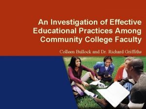 ENGAGING STUDENTS CHALLENGING THE ODDS An Investigation of