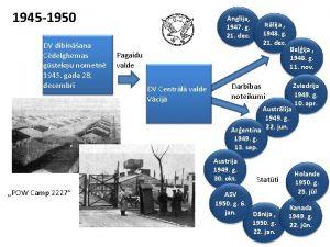 1945 1950 DV dibinana Cdelghemas gsteku nometn 1945