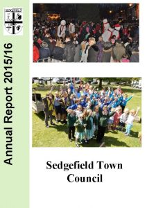 Annual Report 201516 Sedgefield Town Council Annual Report