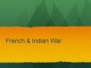 French Indian War Taxes Today What do taxes
