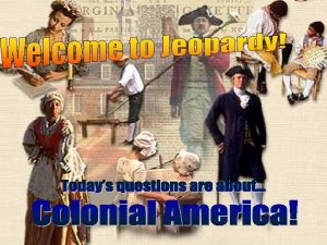 New England Middle Colonies Southern Colonies Slavery Self