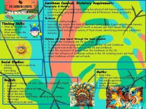 Carribean Carnival Statutory Requirements Geography History Locating countries