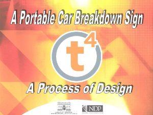 A Car Breakdown Sign A Car Breakdown Sign
